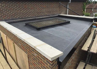 epdm with flat glass